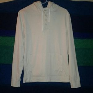 Abercrombie & Fitch small hoodie EUC cream color